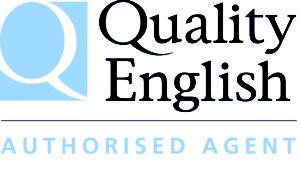3 Quality English Agent Logo
