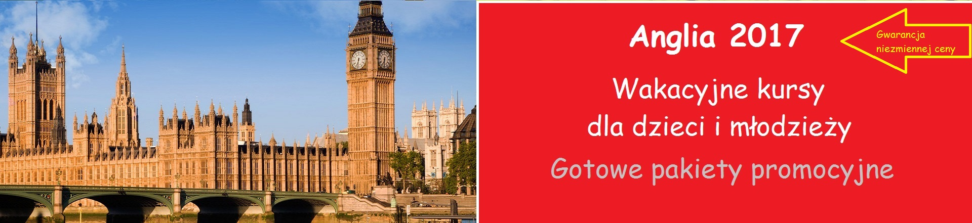 Kursy wakacyjne w Anglii