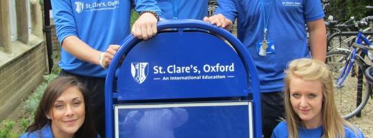 Oxford - szkoła St. Clare's