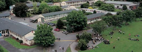 Nowa Zelandia, Christchurch - szkoła średnia państwowa