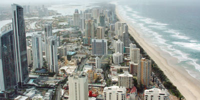 Gold Coast, Surfers Paradise