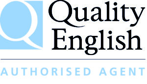 3 Quality English Agent Logo