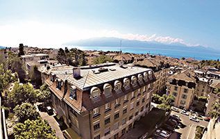 Szwajcaria - Lozanna- Ecole Lémania