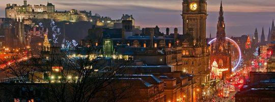 Edynburg - Kurs świąteczno-noworoczny