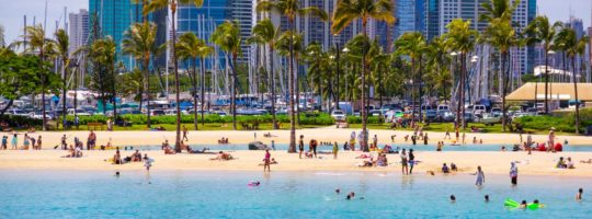 Hawaje - Honolulu - szkoła ICC