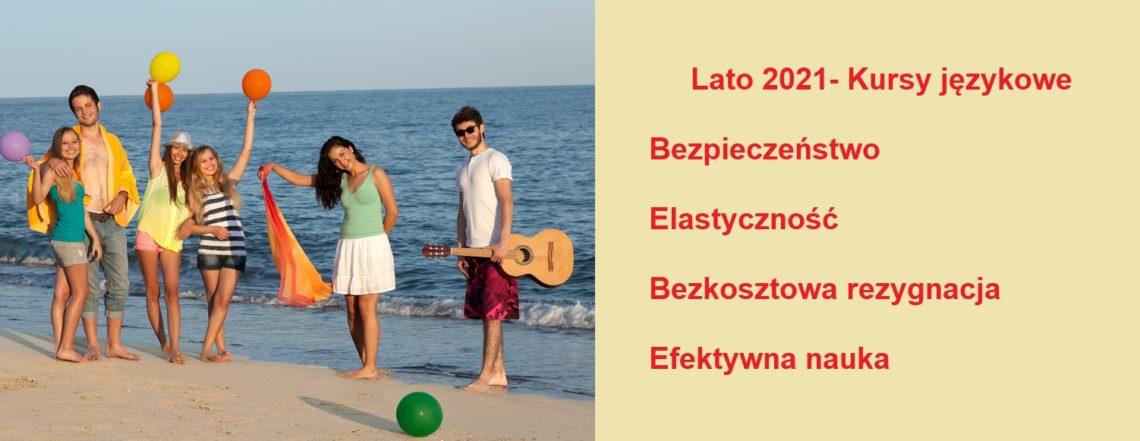 Lato 2021 Kursy wakacyjne